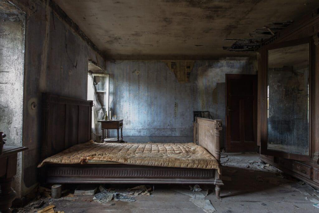 An old mattress, get a new one!
