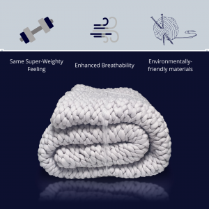 Knitted Weighted Blanket UK